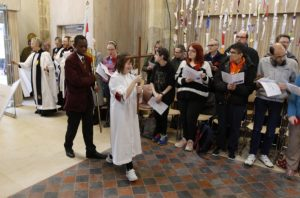 The Service of Celebration to mark the reopening of Discover DeCrypt in Gloucester. - 22 March 2019Picture by Andrew Higgins - Thousand Word Media NO SALES, NO SYNDICATION. Contact for more information mob: 07775556610 web: www.thousandwordmedia.com email: antony@thousandwordmedia.comThe photographic copyright (©2019) is exclusively retained by the works creator at all times and sales, syndication or offering the work for future publication to a third party without the photographer's knowledge or agreement is in breach of the Copyright Designs and Patents Act 1988, (Part 1, Section 4, 2b). Please contact the photographer should you have any questions with regard to the use of the attached work and any rights involved.