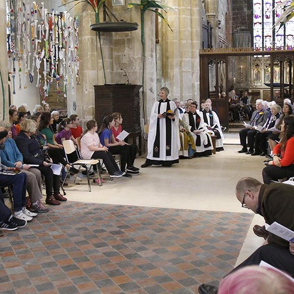 The Service of Celebration to mark the reopening of Discover DeCrypt in Gloucester. - 22 March 2019 Picture by Andrew Higgins - Thousand Word Media   NO SALES, NO SYNDICATION. Contact for more information mob: 07775556610 web: www.thousandwordmedia.com email: antony@thousandwordmedia.com  The photographic copyright (©2019) is exclusively retained by the works creator at all times and sales, syndication or offering the work for future publication to a third party without the photographer's knowledge or agreement is in breach of the Copyright Designs and Patents Act 1988, (Part 1, Section 4, 2b). Please contact the photographer should you have any questions with regard to the use of the attached work and any rights involved.